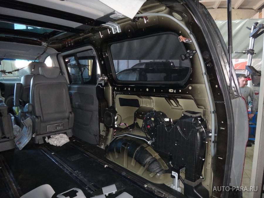 установка ремней безопасности hyundai grand starex